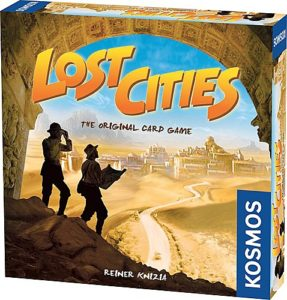 Lost Cities The Card Game with 6th Expedition