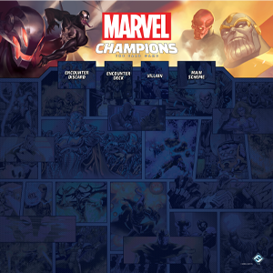 Marvel Champions: the Card Game: 1-4 Player Playmat - PREORDER (Order by itself ONLY - see FAQ)