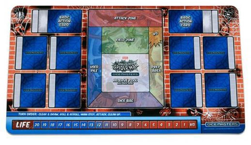 Marvel Dice Masters: The Amazing Spider-Man Playmat