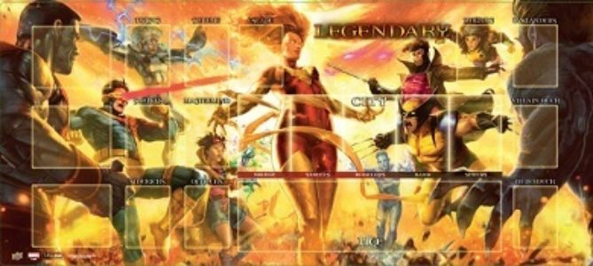 Marvel Legendary Playmat: Dark Phoenix vs. X-Men