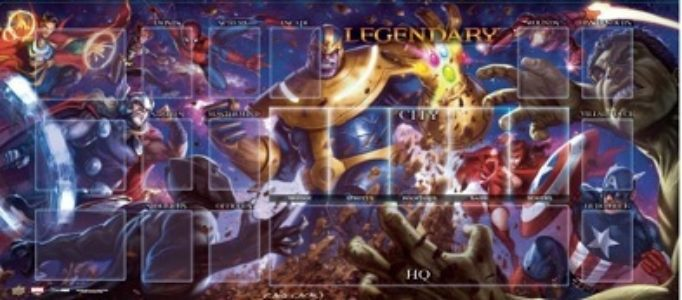 Marvel Legendary Playmat: Thanos vs. Avengers