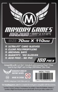 Magnum Silver Ultra-Fit Sleeves Lost Cities