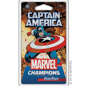 Marvel Champions: The Card Game: Captain America Hero Pack