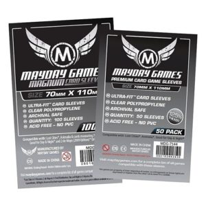 Lost Cities Card Sleeves - Magnum Ultra-Fit (70x110mm)