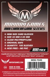 Mini Chimera Game Sleeves RED LABEL