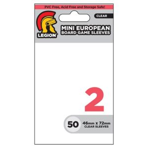 Mini European Board Game Sleeves (50)