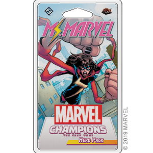 Marvel Champions: The Card Game: Ms. Marvel Hero Pack