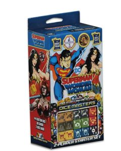DC Dice Masters Superman and Wonder Woman Starter Set