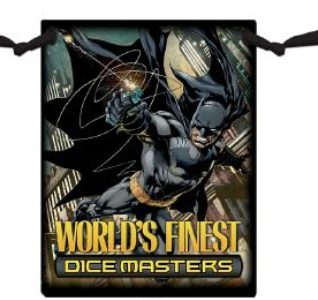 DC Comics Dice Masters: World's Finest Dice Bag (Superman/Batman)