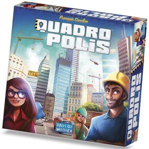 Quadropolis (no shrink wrap, minor box damage)