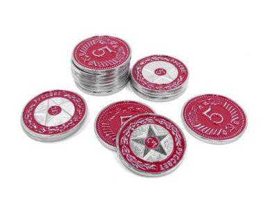 Scythe Promo #17 -15 Metal $5 coins