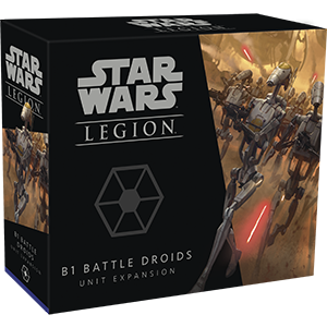 Star Wars: Legion - B1 Battle Droids Unit - PREORDER (Order by itself ONLY - see FAQ)