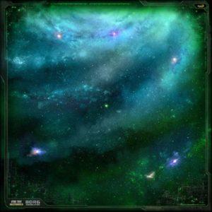 Star Trek: Ascendancy: Borg Play Mat