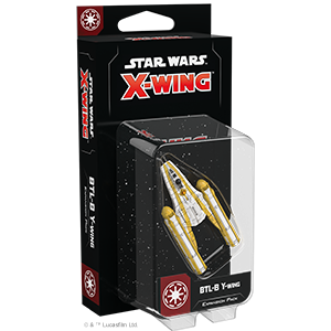 Star Wars: X-Wing (Second Edition) – BTL-B Y-Wing Expansion Pack