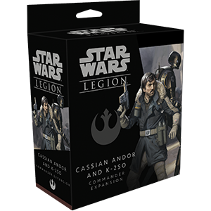 Star Wars: Legion - Cassian Andor and K-2S0 Commander Expansion