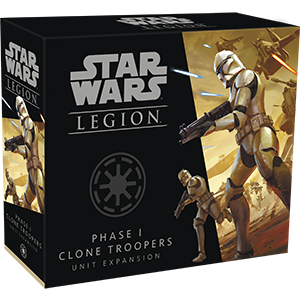Star Wars: Legion - Phase I Clone Troopers - PREORDER (Order by itself ONLY - see FAQ)