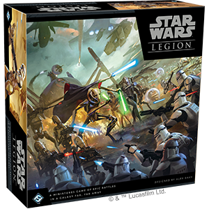 Star Wars: Legion - Clone Wars Core Set - PREORDER (Order by itself ONLY - see FAQ)