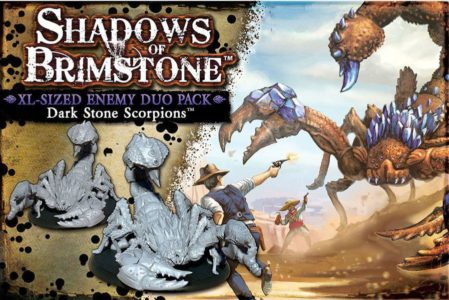 Shadows of Brimstone: Dark Stone Scorpions XL-Sized Enemy Duo Pack