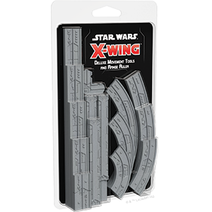 Star Wars: X-Wing (Second Edition) – Deluxe Movement Tools & Range Ruler