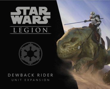 Star Wars: Legion - Dewback Rider Unit Expansion - PREORDER (Order by itself ONLY - see FAQ)