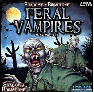 Shadows of Brimstone: Feral Vampires Mission Pack