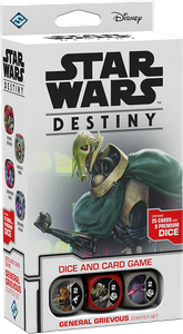 Star Wars: Destiny – General Grievous Starter Set  (slight water damage bottom of box)