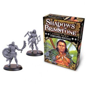 Shadows of Brimstone: Jargono Native Hero Pack (slight box damage)