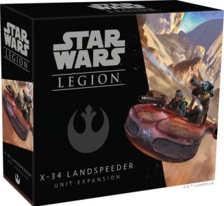 Star Wars: Legion – X-34 Landspeeder Unit