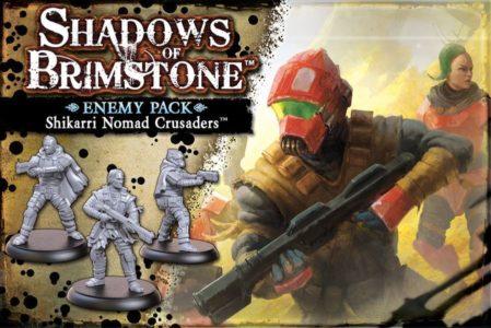 Shadows of Brimstone: Shikarri Nomad Crusaders Enemy Pack