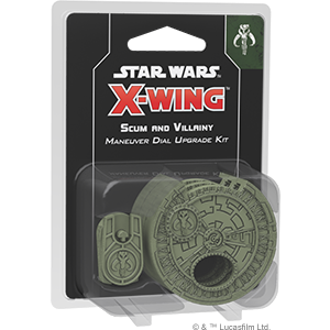 Star Wars X-Wing: 2nd Edition - Scum Maneuver Dial Upgrade Kit