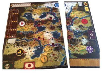 Scythe: Game BASIC Board Extension (not modular)