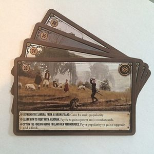 Scythe Kickstarter Promo Pack #2 - 4 Promo Encounter Cards