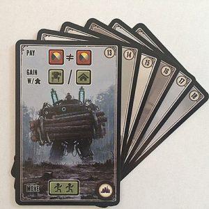 Scythe Kickstarter Promo Pack #4 Factory Cards - 6 Promo Cards