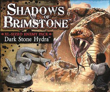 Shadows of Brimstone: Dark Stone Hydra XL Enemy Pack