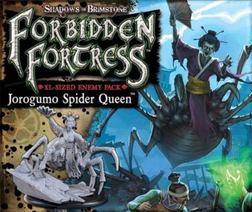 Shadows of Brimstone: Jorogumo Spider Queen Enemy Pack