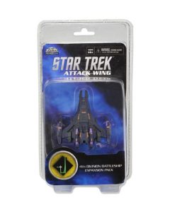 Star Trek Attack Wing: Dominion 4th Division Battleship Expansion Pack