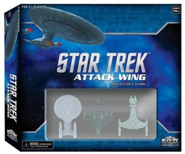 Star Trek Attack Wing Miniatures Game Starter Set