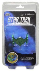 Star Trek Attack Wing Miniatures Game Romulan I.R.W. Praetus Expansion Pack