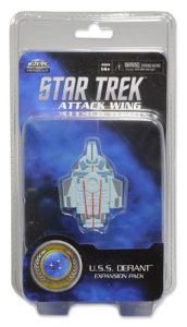 Star Trek Attack Wing Miniatures Game U.S.S. Defiant