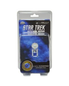 Star Trek Attack Wing Miniatures Game U.S.S. Enterprise Mini (2016 Version)