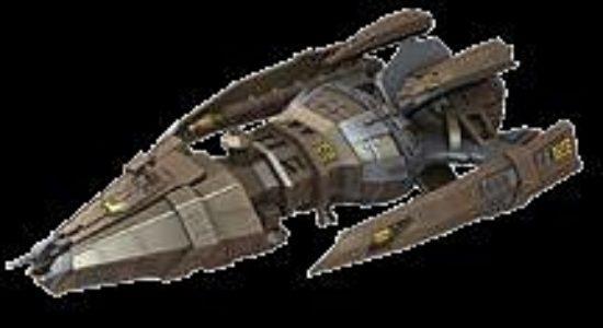 Star Trek Attack Wing: Hirogen Warship Expansion Pack