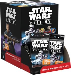 Star Wars: Destiny SPIRIT OF REBELLION Booster Box