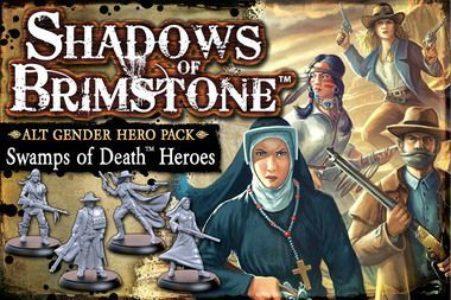 Shadows of Brimstone: Swamps of Death – Alt Gender Hero Pack