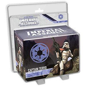 Star Wars: Imperial Assault – Captain Terro Villain Pack