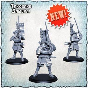 Shadows of Brimstone: Takobake Samurai Enemy Pack