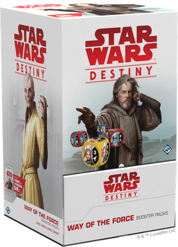 Star Wars Destiny Way of the Force Booster Box