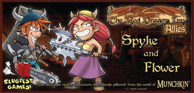 The Red Dragon Inn Allies - Spyke and Flower