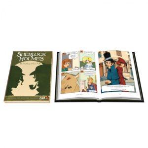 Sherlock Holmes Challenge of Irene Adler (graphic novel)