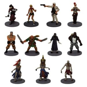 The Adventurers: The Pyramid of Horus Minis
