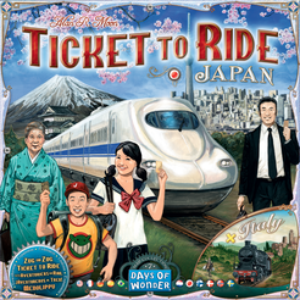 Ticket to Ride Map Collection: Volume 7 – Japan & Italy - PREORDER (ORDER BY ITSELF ONLY - SEE FAQ)